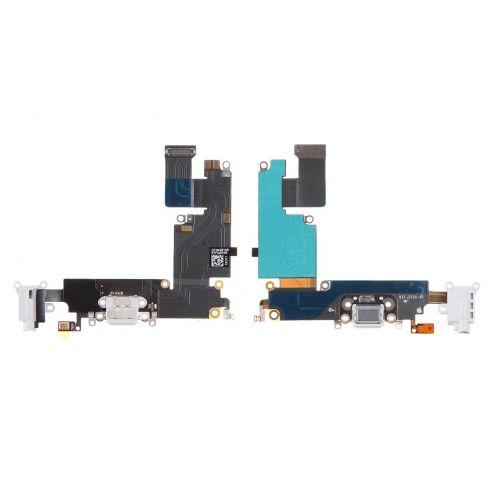 half off 2557c fa377 Apple iPhone 6 Plus Charging Flex Port Cable Usb Headphone Microphone Jack  Original Genuine White