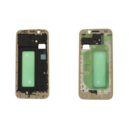 low priced 7e1af b0b64 Samsung Galaxy J5 2017 SM-J530F Gold Replacement Chassis Cover Housing  Frame Lcd Display Support Original Genuine