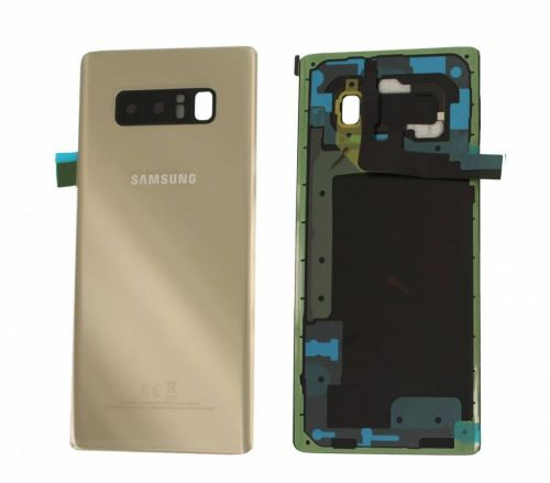 huge discount 73588 345f1 Samsung Galaxy Note 8 N950F Battery Cover Back Housing Fascia 100% Original  Genuine From Samsung UK Gold