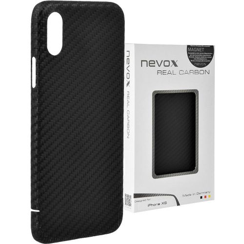 outlet store sale 3a1db d126f Apple iPhone XS Real Original Genuine Carbon Fibre Strong Luxury Case Cover  Nevox