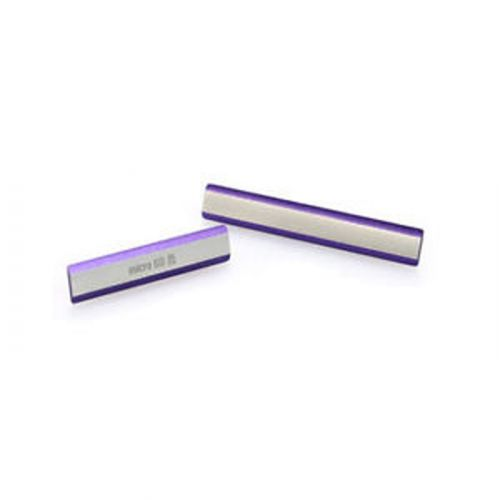 new arrival 92900 7e2e2 Sony Xperia Z2 Micro Sd Memory Sim Card Charging Side Dust Cover Plug Back  Housing Fascia Set Original Genuine Purple Silver