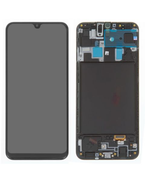 Samsung Galaxy A20 A205 SM-A205F Lcd Touch Screen Display Complete Original Genuine Black Replacement