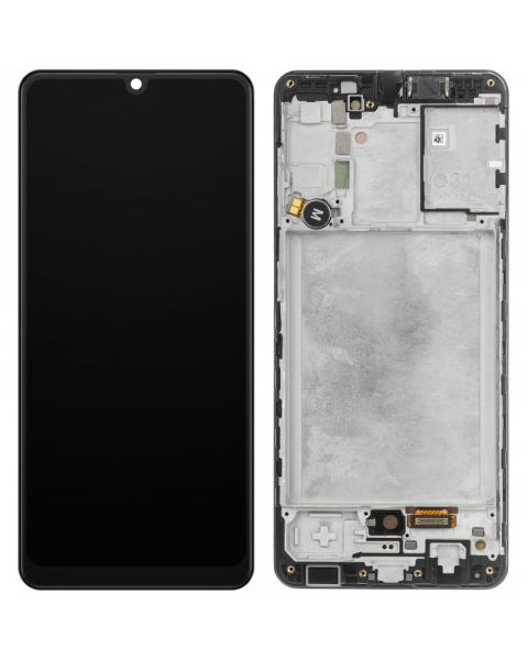 Samsung Galaxy A31 A315 Lcd Touch Screen Display Complete Original Genuine Black Replacement