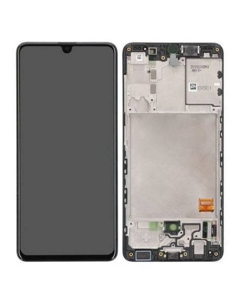 Samsung Galaxy A41 A415 SM-A415F Lcd Touch Screen Display Complete Original Genuine Black Replacement