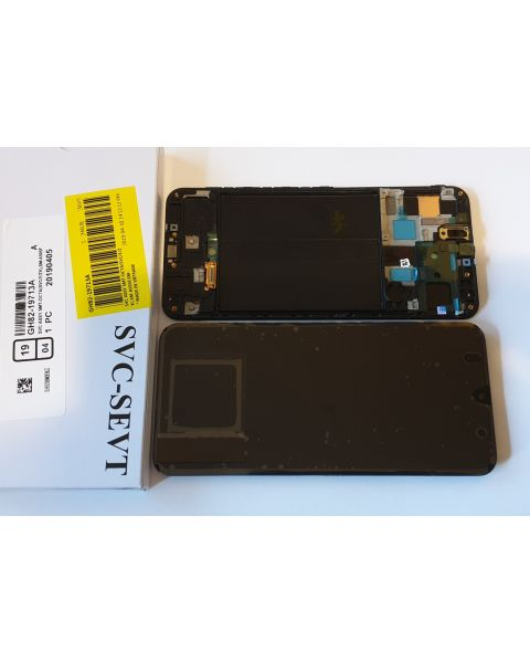 Samsung Galaxy A50 A505 SM-A505F Lcd Touch Screen Display Complete Original Genuine Black Replacement
