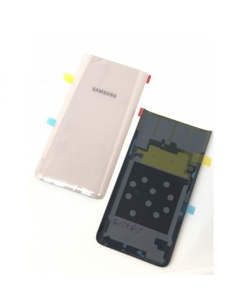 14 DAY Samsung Galaxy A80 A805F Battery Cover Back Housing Fascia 100% Original Genuine Gold LIKE NEW