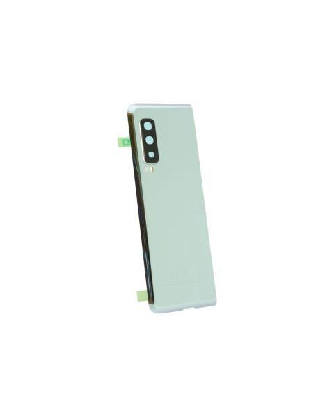 Samsung Galaxy Fold SM-F900 Battery Cover Back Housing Fascia 100% Original Genuine From Samsung Silver