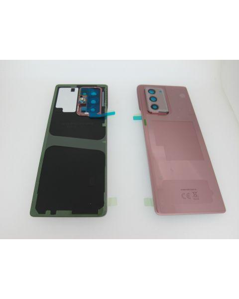 Samsung Galaxy Z Fold2 5G SM-F916 Battery Cover Back Housing Fascia 100% Original Genuine From Samsung Mystic Bronze Pink