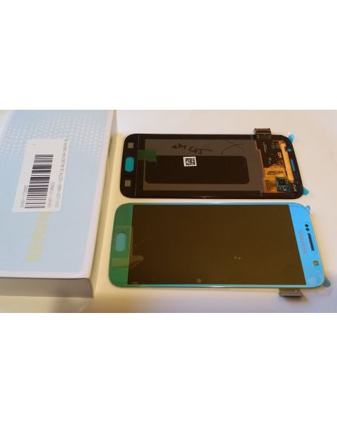 Samsung Galaxy S6 SM-G920F Lcd Touch Screen Display Complete Original Genuine Light Blue