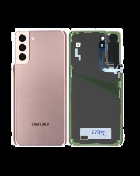 Samsung Galaxy S21+ 5G SM-G996 Battery Cover Back Housing Fascia 100% Original Genuine Phantom Gold New Replacement