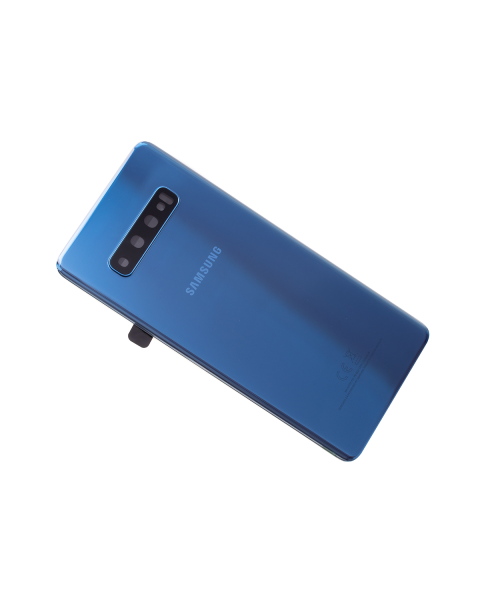 14 DAY Samsung Galaxy S10+ G975F S10 Plus Battery Cover Back Housing Fascia 100% Original Genuine From Samsung UK Blue LIKE NEW