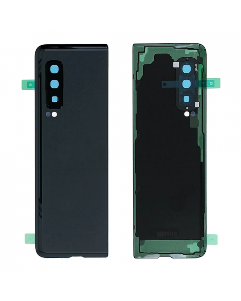 Samsung Galaxy Fold SM-F900 Battery Cover Back Housing Fascia 100% Original Genuine From Samsung Black