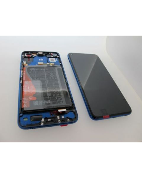 Huawei Honor 20 Pro Lcd Screen Display Digitizer Touch Original Genuine Complete Replacement Blue With Battery + Frame