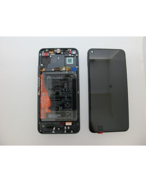 Huawei Honor 20 Lcd Screen Display Digitizer Touch Original Genuine Complete Replacement Black With Battery + Frame