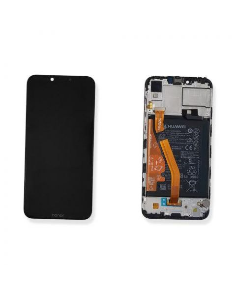 Huawei Honor Play COR-L29 Lcd Screen Display Digitizer Touch Original Genuine Complete Replacement Black With Battery + Frame