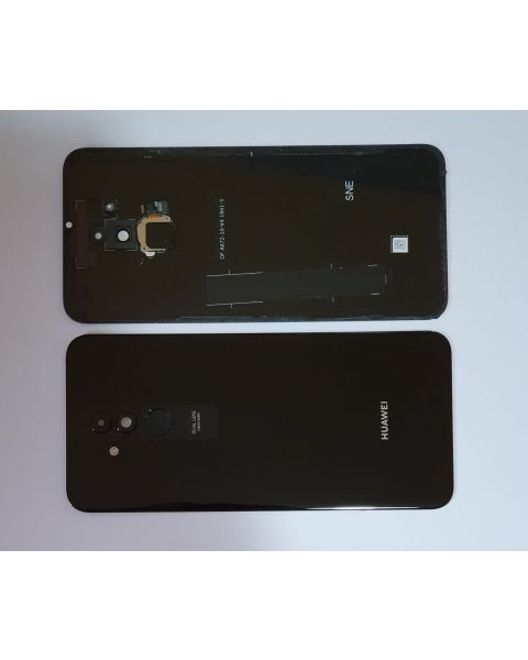14 DAY Huawei Mate 20 Lite Back Rear Battery Cover Original Genuine Complete Replacement Black + Fingerprint Reader LIKE NEW