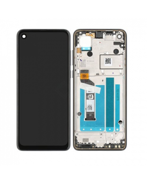 Motorola XT1970 One Vision Lcd Screen Display Digitizer Touch Original Complete Replacement Black