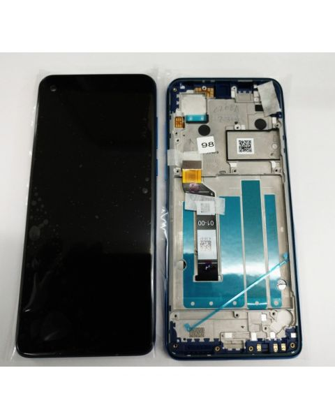 Motorola XT1970 One Vision Lcd Screen Display Digitizer Touch Original Complete Replacement Robusta Bronze