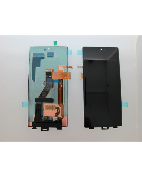 Samsung Galaxy Note 10+ SM-N975F Lcd Touch Screen Display Complete Original Genuine Aura Black Without Frame