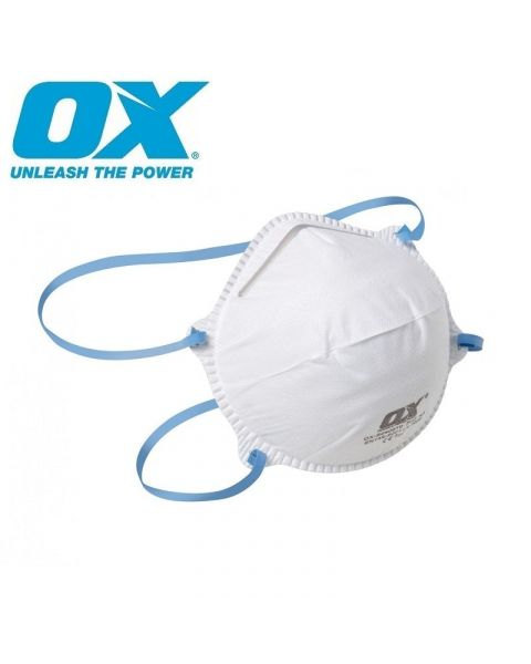 N95 FFP2 OX MOULDED CUP REUSABLE PROFESSIONAL FACE HOSPITAL MASK MEDICAL SURGICAL FLU RESPIRATOR STERILE