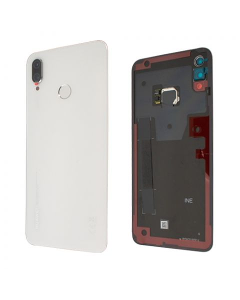 Huawei P Smart+ P Smart Plus Back Rear Battery Cover Chassis Frame Housing Original Genuine Complete Replacement White