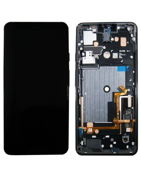 Google Pixel 3 XL Lcd Screen Display Digitizer Touch Original Genuine Complete Replacement Black