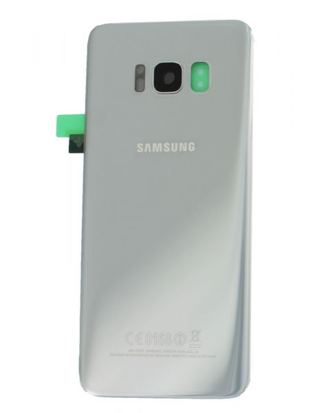 14 DAY Samsung Galaxy S8 G950F Battery Cover Back Housing Fascia 100% Original Genuine From Samsung UK Silver LIKE NEW