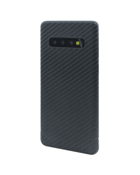 Samsung Galaxy S10+ G975F S10 Plus Real Original Carbon Fibre Strong Luxury Case Cover Nevox