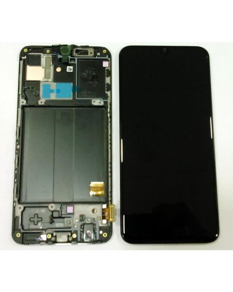 Samsung Galaxy A40 A405 SM-A405F Lcd Touch Screen Display Complete Original Genuine Black Replacement