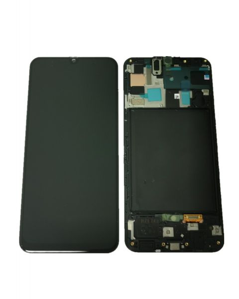 Samsung Galaxy A70 A705 SM-A705F Lcd Touch Screen Display Complete Original Genuine Black Replacement