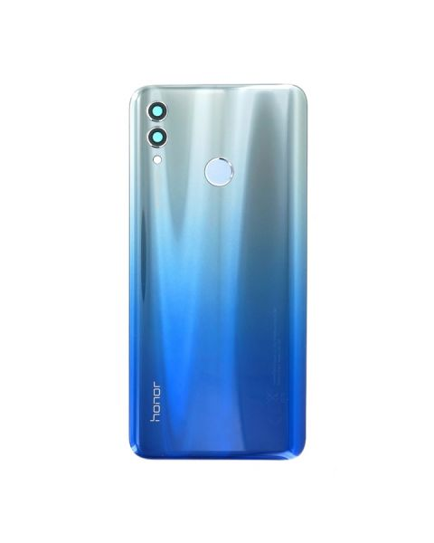Huawei Honor 10 Lite Back Rear Battery Cover Chassis Frame Housing Original Genuine Complete Replacement Sky Blue + Fingerprint Reader
