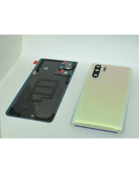 Huawei P30 Pro Back Rear Battery Cover Chassis Frame Housing Original Genuine Complete Replacement Breathing Crystal