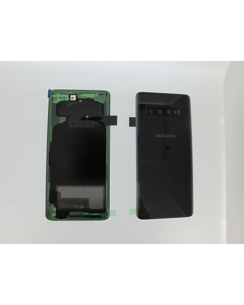 Samsung Galaxy S10 G973F Battery Cover Back Housing Fascia 100% Original Genuine From Samsung UK Prism Black